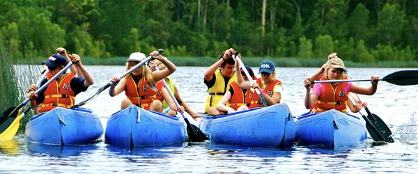Mattocks Dam Canoeing